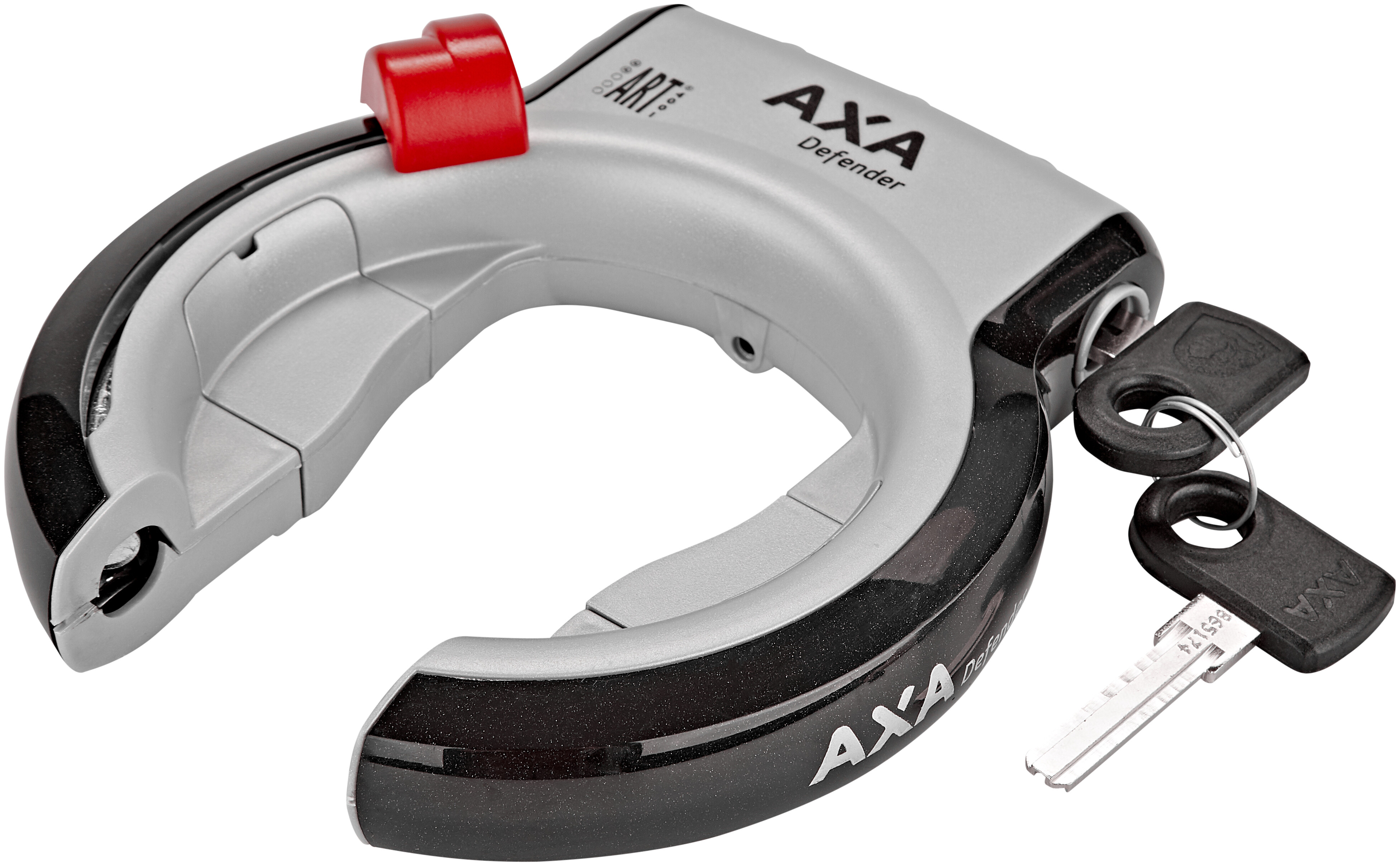 AXA Rahmenschloss DEFENDER RL  silber//schwarz